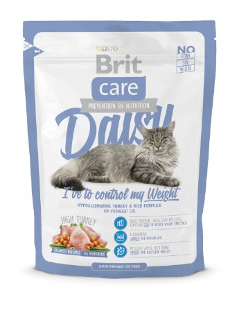 Корм Brit Care Cat Daisy I have to control my Weight, 0,4 кг Brit