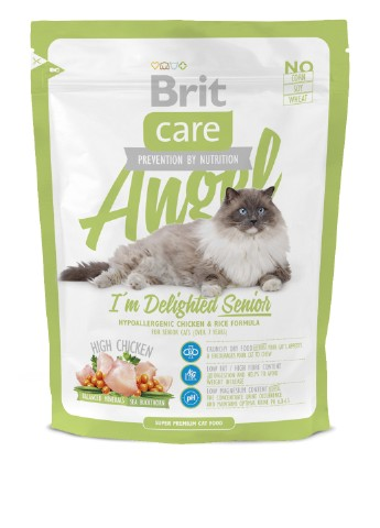 Корм Brit Care Cat Angel I am Delighted Senior, 0,4 кг Brit