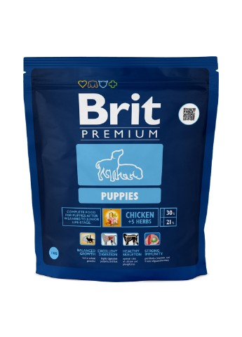 Корм Brit Premium Puppies, 1 кг Brit