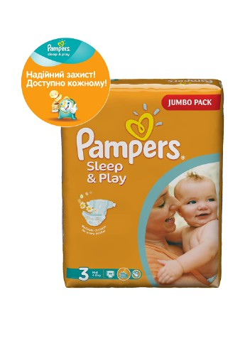 Подгузники Sleep & Play Midi (4-9 кг), 78 шт. Pampers